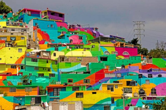 Favela-hill patterns